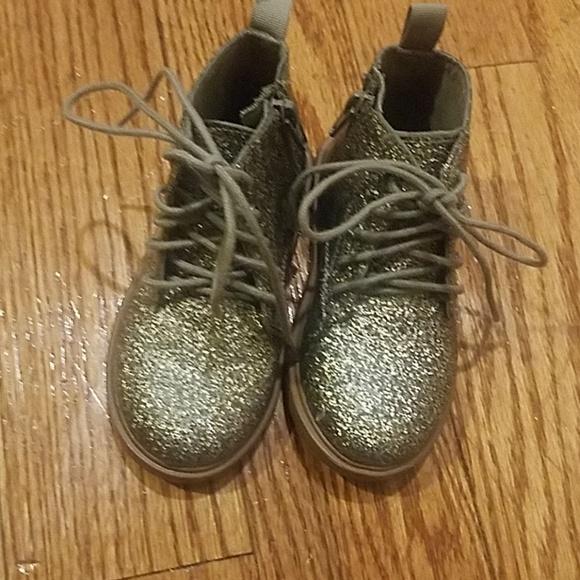 f23dd48dce1 Zara Baby Glitter boots. M 5b78c7a5aa57193d7f6824ac